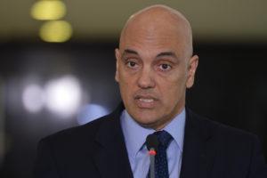 Brasília - Após reunião com o presidente em interino, Michel Temer, o ministro da justiça, Alexandre de Moraes, fala com a imprensa sobre a segurança nas Olimpiadas. (Antônio Cruz/ Agência Brasil)